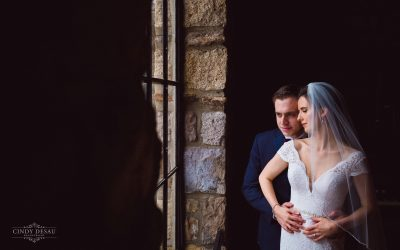 Winter Wedding in New Hope at Holly Hedge Estate